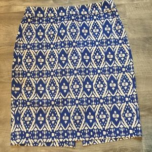 J. Crew The pencil skirt size 0.